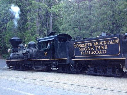 Yosemite Mountain Sugar Pine Railroad. Photo courtesy Sue Fawn Chung.