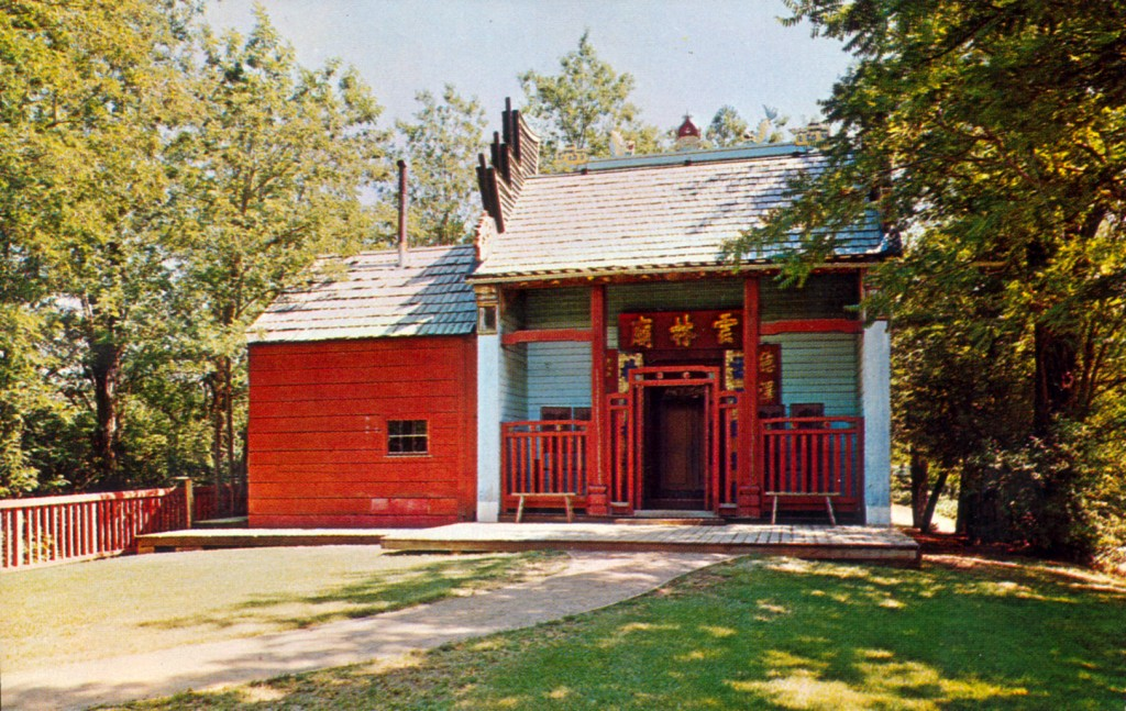 Weaverville Joss House. Image: CHSA Collection