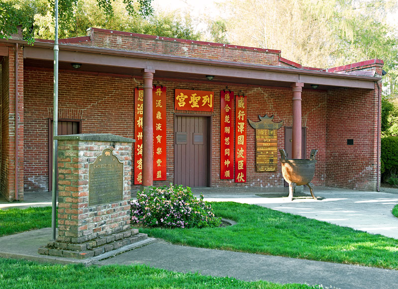 Oroville Chinese Temple. Photo courtesy Sue Fawn Chung.