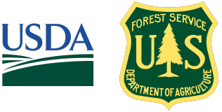 USDA US Forest Service logos